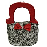 Pinatas Girls Zebra Print Purse Pinata