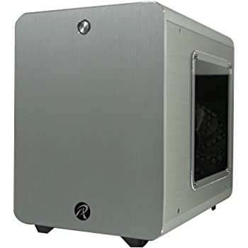 Case Raijintek Metis Plus Mini-ITX - Argento con Finestra