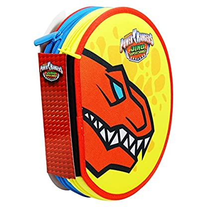 51UOC5ESdTL. SS416  - Power Rangers Dino Super Charges Estuche Escolar Làpices de colores