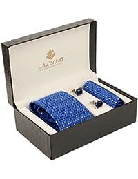 Cazzano Checkered Men's Tie Set (TCPNC171)