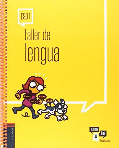 Portada del libro Taller de Lengua 1.º ESO: Cuaderno del alumno (Somoslink)