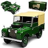 Minichamps Land Rover Defender Dunkel Grün 1948 1/18 Modell Auto