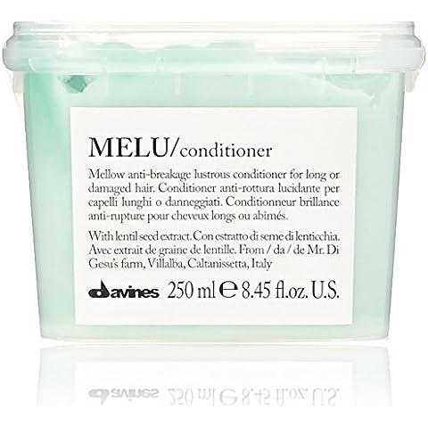 Davines MELU Conditioner 250ml anti-rottura per capelli lunghi o danneggiati - estratto di Semi di (Rich Cura Conditioner)