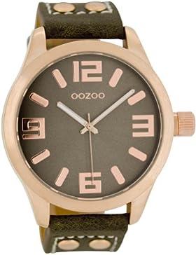 Oozoo C1158–Uhr für Frauen Lederband taupe