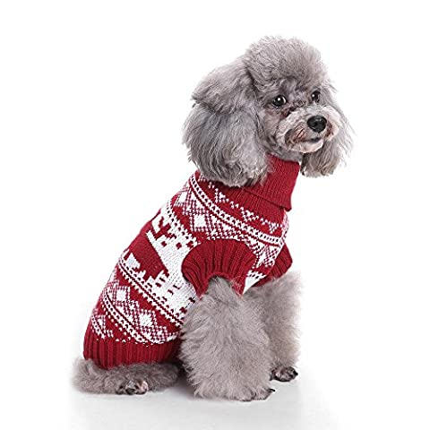 Vintage Holiday Festive Christmas Themed Dog Sweaters Ou Soft Reindeer Throw Blanket Pour Les Chiens De La Famille EntièRe LNAG , l