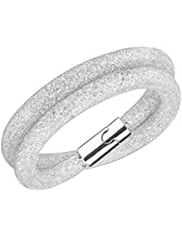 Swarovski Damen-Armband Edelstahl Glas transparent 38 cm - 5184183