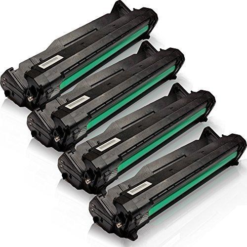 4x kompatible Trommeleinheit für OKI TYPE C9 C3300 C3300N C3400 C3400N C3450...