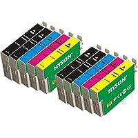 10 Pacchetto de Alta Capacidad HYSON Remanufacturado Epson Cartucho de