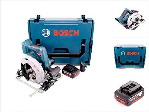Preisvergleich Produktbild Bosch GKS 18 V-57 G Professional Akku Kreissäge mit 1x GBA 6,0 Ah Akku und L-Boxx