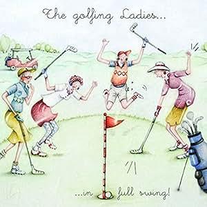 Ladies Golf Card