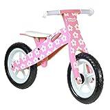 boppi® Bici senza pedali in legno 2-5 anni - Fiore Rosa