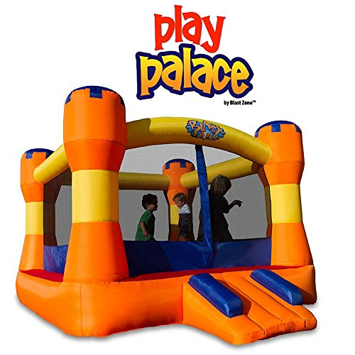 Blast Zone GE-PLAY PALACE Inflatable Bounce House