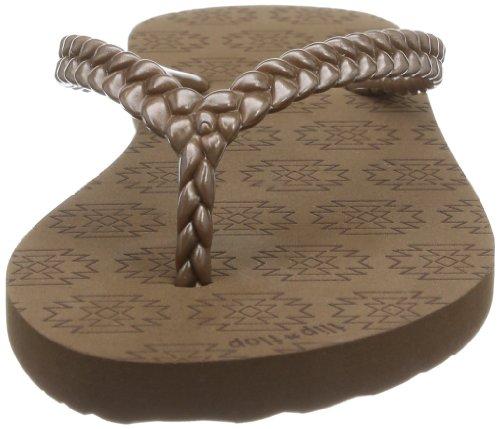 flip*flop slim kilim, Infradito donna Marrone (Braun (mokka 888))