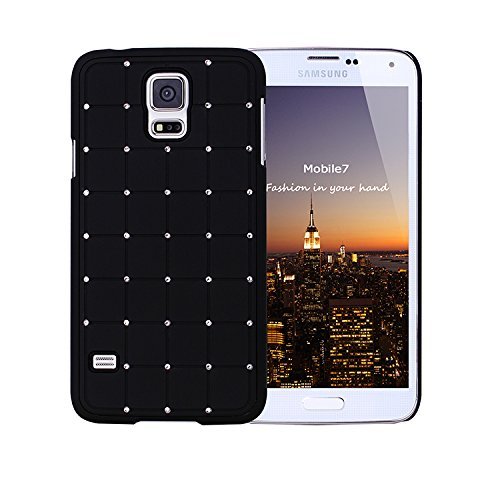 Style Icon Samsung Glaxay S4 Mini LUXURY CRYSTAL Cross Diamond Black Case Bling Hard Cover with Black Frame For Samsung Glaxay S4 Mini by - Audio Wireless Dock Samsung