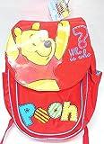 Zaino Asilo Rosso Winnie The Pooh
