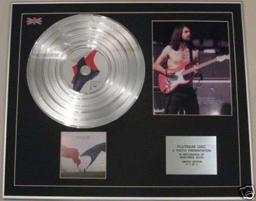 Biffy Clyro - CD platinum disc + Photo - Solo Rivoluzioni