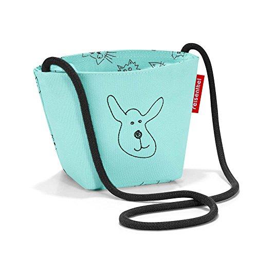 Reisenthel, Minibag Kids Cats And Dogs, Kinder-Sporttasche, 21 cm, Mint (Mint Hund)