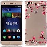 Funda Carcasa Soft Case Cover para Huawei ALE-L21/Huawei P8 lite Funda de Silicona de Gel