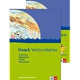 Haack Verbundatlas / Ausgabe für Niedersachen und Bremen: Erdkunde, Geschichte, Politik, Wirtschaft. Mit Arbeitsheft Kartenlesen mit Atlasführerschein
