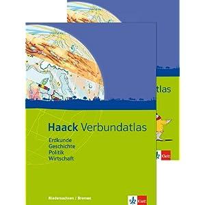 Jetzt herunterladen pdf Haack Verbundatlas / Ausgabe für Niedersachen und Bremen: Erdkunde, Geschichte, Politik, Wirtschaft. Mit Arbeitsheft Kartenlesen mit Atlasführersche