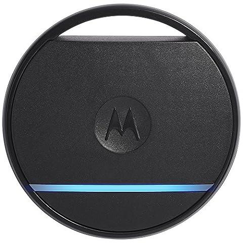 Motorola Connect Coin Porte-clés connecté avec localisation, bouton selfie/SOS Noir