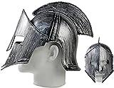 Seiler24 Premium Sparta 300 Helm Kriegerhelm Spartanerhelm in silber