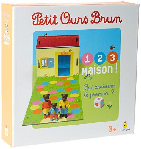 Jeu Petit Ours Brun - 1,2,3, Maison ! (Jeux et jouets Petit Ours Brun)