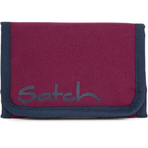 SATCH Black Triad Münzbörse SAT-WAL-001-9C5, 13 cm, 1 L, Heatembossed Pyramide Purple
