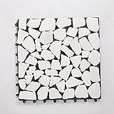 Massivholz-bodenbeläge wpc parkette marmor parkette diy stone mosaic parkette outdoor parkette-C
