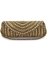 550c9899b0b Funkia™ Women s ethnic, designer, handcrafted Silk Party Clutch - 7 colors  to choose