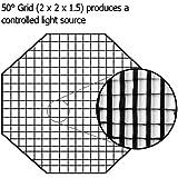 "Fotodiox FX-Grid-48-Oct Softbox 48"" (120 cm) Noir"
