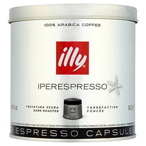 Purchase illy Iperespresso Capsules Dark 21 per pack from illy