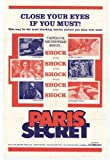 Paris Secret Plakat Movie Poster (11 x 17 Inches - 28cm x 44cm) (1967)
