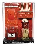 Pajoma 62537Woodwick Cinnamon Chai Trio Gift Set
