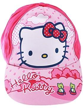 Cap Kinder Mädchen Hello Kitty rosa und blau von 3bis 9Jahre