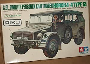Horch 4X4 Type 1a Schwerer Einheits PKW A.U. 1:35 Scale Model Kit MM152 Tamiya