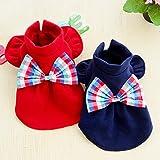 shanzhizui Haustier Hundekleidung Teddy Kleidung Bomei Kleine Hunde Halblanges Prinzessinnen-Kleid Welpe Rock Zarter Rock, Blue, XS