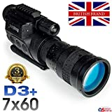 Rongland NV760D3+ Professionelles Digitales Nachtsichtgerät - 3 Jahre Garantie. Britische Marke. Bildqualität der 2. Gen