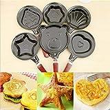 Bright Enterprise Non Stick Egg Frying Pan Cartoon Omelette Fry Pan Egg Frying Pan - 1PCS