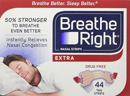 BREATHE RIGHT NASEN STREIFEN (hautfarbe) 44 Streifen eine Größe