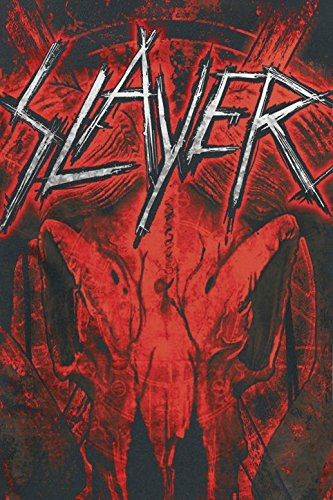 Slayer Mongo Goat T-Shirt schwarz Schwarz