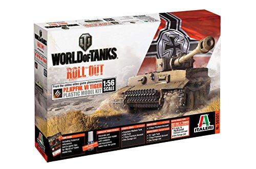 Italeri 510056501 - 1:56 WoT Tiger 1