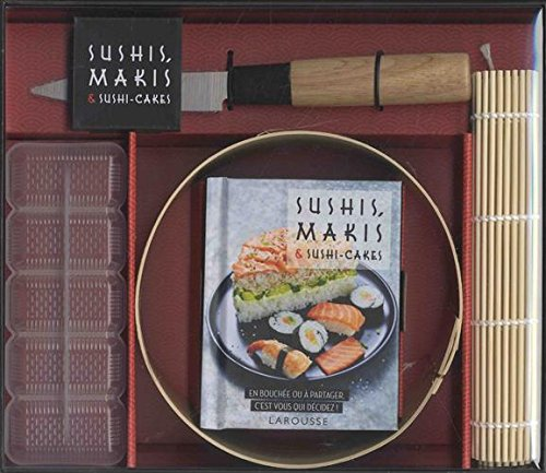 Sushis, makis & sushis cakes par Collectif