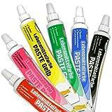 Lebensmittelfarben-Set, 6 Farben für ausgedehnten Backspaß, geschmacksneutral, hoch ergiebig