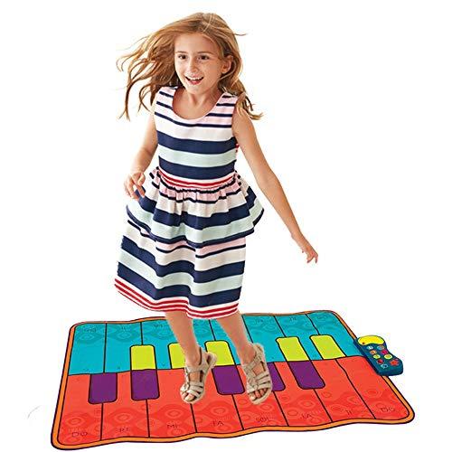 Estera piano niños Alfombra juego musical 54 pulgadas