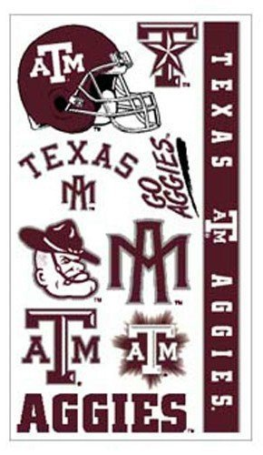 texas-am-aggies-temporary-tattoos-easily-removed-with-household-rubbing-alcohol-or-baby-oil-by-cas