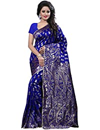 Indische Bollywood Sari Women`s Fashion Saree mit Unstitched Bluse