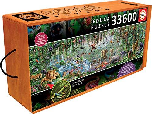 Educa 16066 - Puzzle - Wildlife, 33600-Teilig -