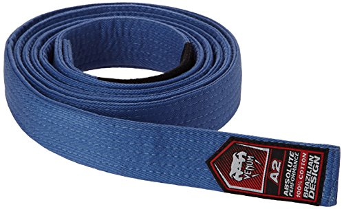 Venum bjj - cintura da jiu-jitsu brasiliano, per uomo, blu (blu), xl-xxl (taglia del produttore : a4)
