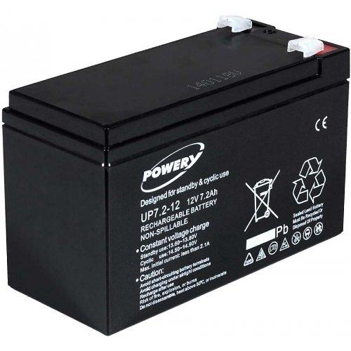 akku-net Blei-Gel-Akku für USV APC Power Saving Back-UPS Pro 550, 12V, Lead-Acid